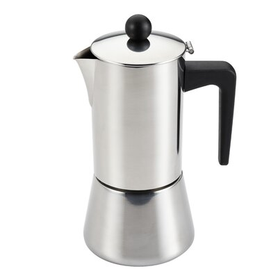 Insulated Latte Coffee Maker Size: 6 Cup 53917