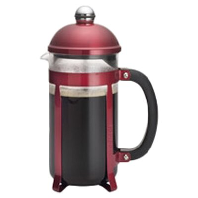 Maximus� 8 Cup French Press Coffee Maker Color: Red 53794