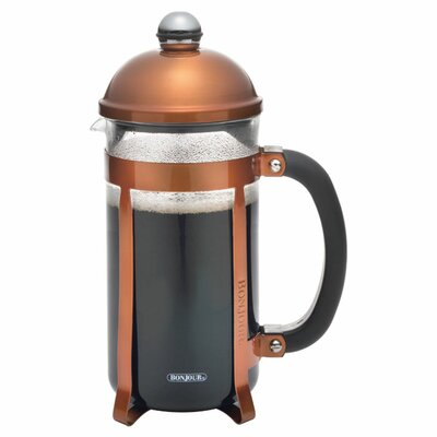Maximus� 8 Cup French Press Coffee Maker Color: Brown 53779