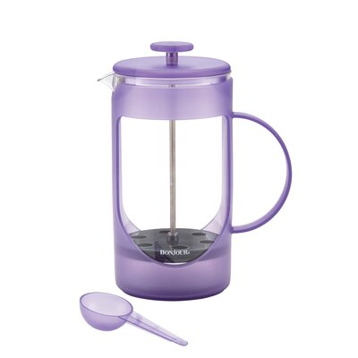 8 Cup Ami-Matin Unbreakable French Press Coffee Maker Color: Blue 46574