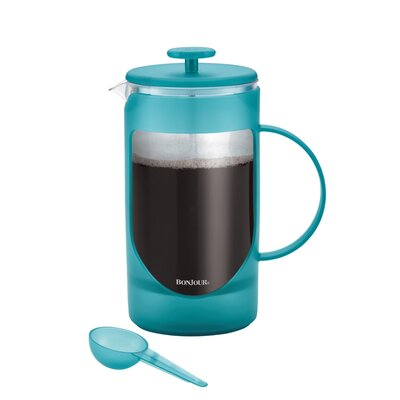 8 Cup Ami-Matin Unbreakable French Press Coffee Maker Color: French Lavender 46575