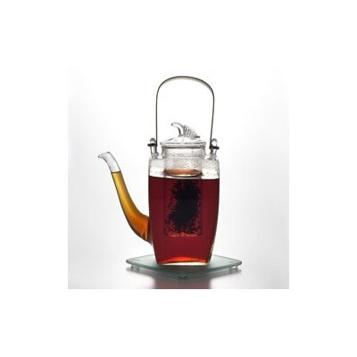 BonJour Simone 27-Ounce Glass Teapot with Glass Infuser