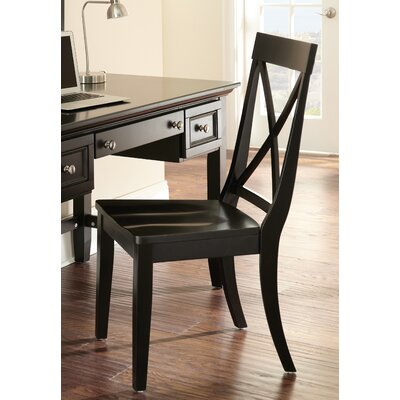 Oslo Side Chair Finish: Black
