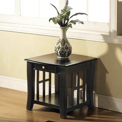 Jennings End Table With Storage