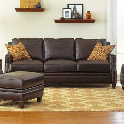 Gravely Leather Sofa