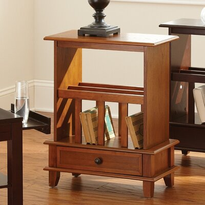 Jordan End Table Color: Oak