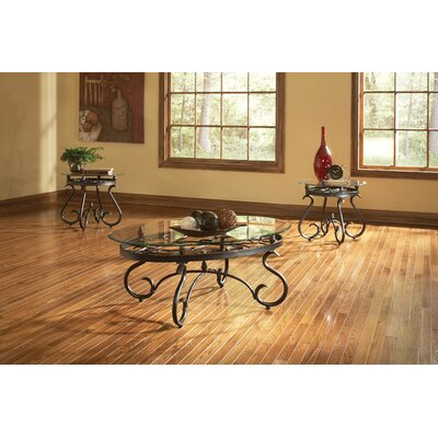 Merrimack 3 Piece Coffee Table Set