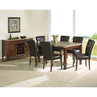 Discount Furniture Minneapolis on Steve Silver Furniture Montibello Large Dining Table In Multi Step
