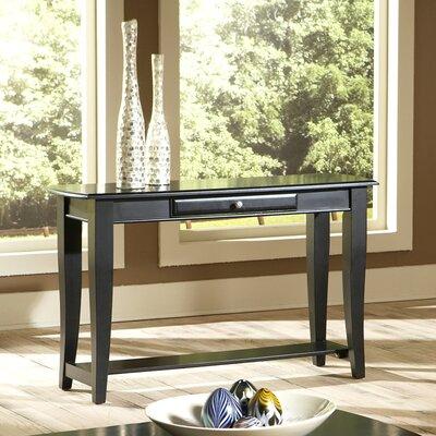 Cheap Steve Silver Furniture Hamilton Sofa Table in Multi-Step Black (SVV1436)