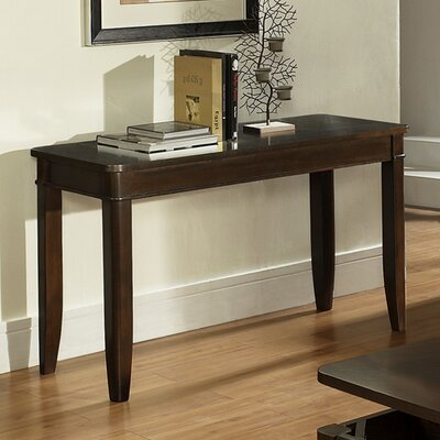Cheap Steve Silver Furniture Manor Sofa Table in Multi-Step Dark Oak (SVV1489)