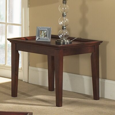 Cheap Steve Silver Furniture Marion End Table in Multi-Step Dark Cherry (SVV1494)