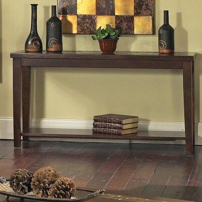 Cheap Steve Silver Furniture Davenport Sofa Table in Multi-Step Dark Cherry (SVV1324)