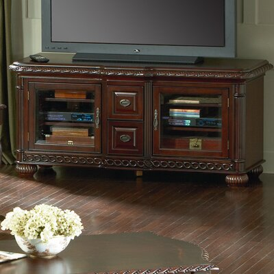 Cheap Steve Silver Furniture Antoinette 60″ TV Stand in Multi-Step Rich Cherry (SVV1309)