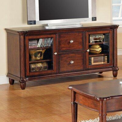 Cheap Steve Silver Furniture Kennedy 60″ TV Stand in Multi-Step Rich Cherry (SVV1320)