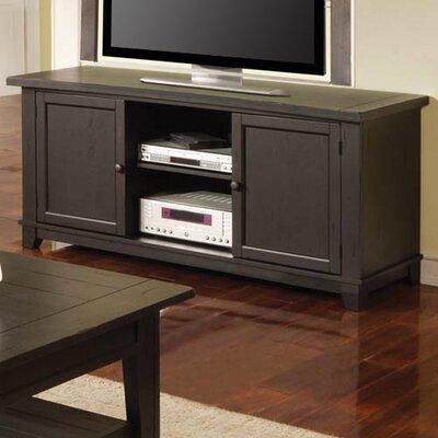 Cheap Steve Silver Furniture Liberty 60″ TV Stand in Multi-Step Antique Black (SVV1354)