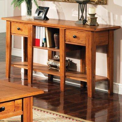 Cheap Steve Silver Furniture Liberty Sofa Table in Multi-Step Oak (SVV1358)