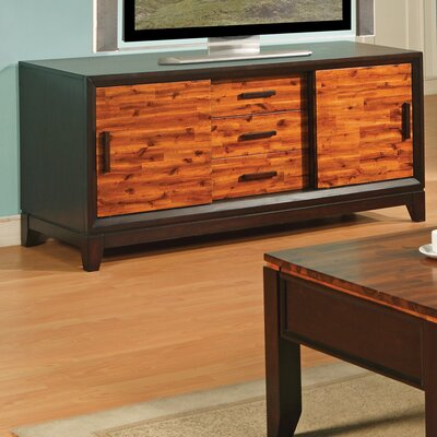 Cheap Steve Silver Furniture Abaco 60″ TV Stand in Multi-Step Acacia (SVV1394)