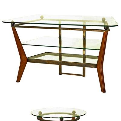 Cheap Steve Silver Furniture Saxony 46″ TV Stand in Multi-Step Cherry (SVV1725)