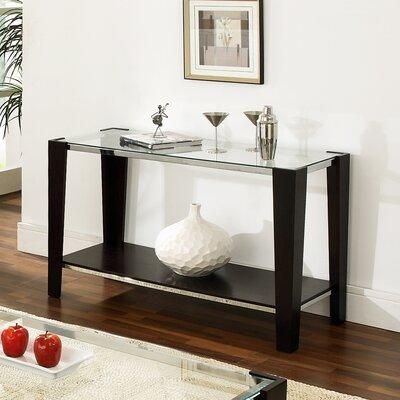 Cheap Steve Silver Furniture Newman Sofa Table in Espresso (SVV1940)