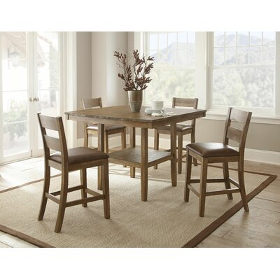Cambrey 5 Piece Counter Height Dining Set