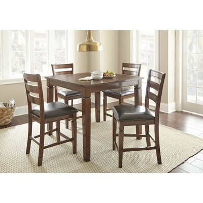 Acres 5 Piece Counter Height Dining Set