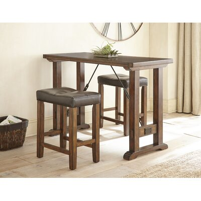 Adams Northwest 3 Piece Counter Height Dining Set