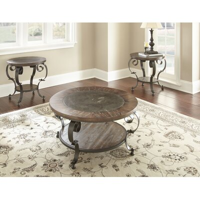 Alan 2 Piece Coffee Table Set