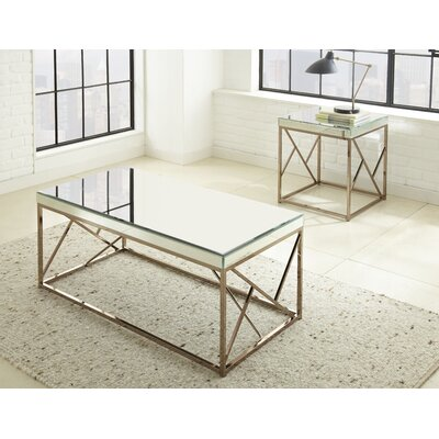 Hendrix 2 Piece Coffee Table Set