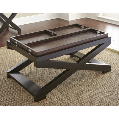 Stillman Coffee Table with Tray Top