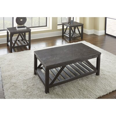 Livingston 2 Piece Coffee Table Set