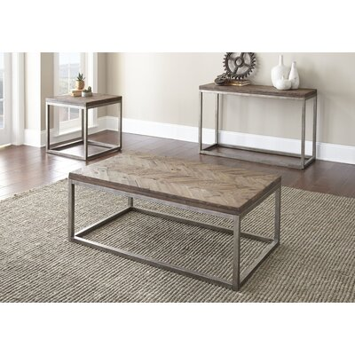 Livonia 3 Piece Coffee Table Set