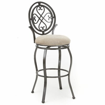 Abbot 47 Swivel Bar Stool