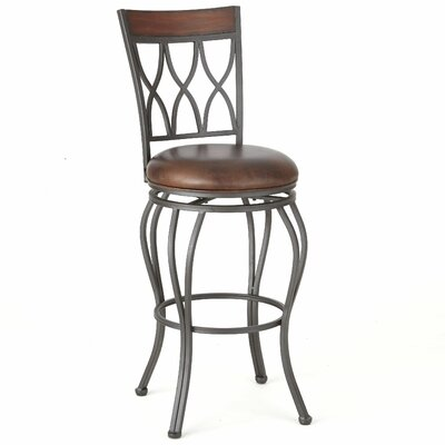 Malinda 40 Swivel Bar Stool