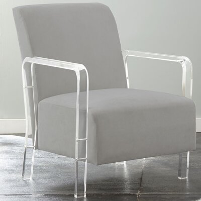 Everson Armchair Upholstery: Gray