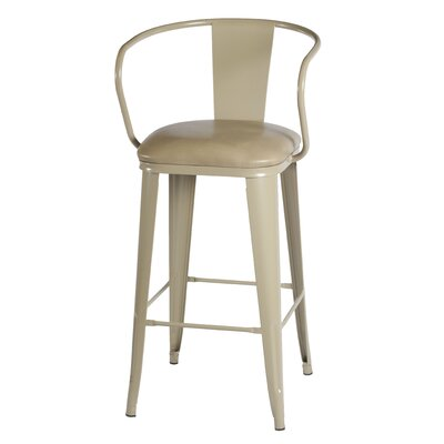 Maliyah 36 Bar Stool Finish: Beige
