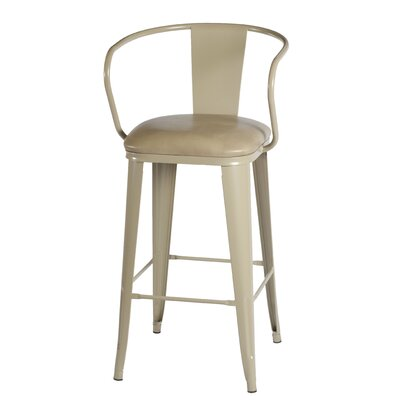 Ocilla 42 Bar Stool with Cushion Finish: Beige