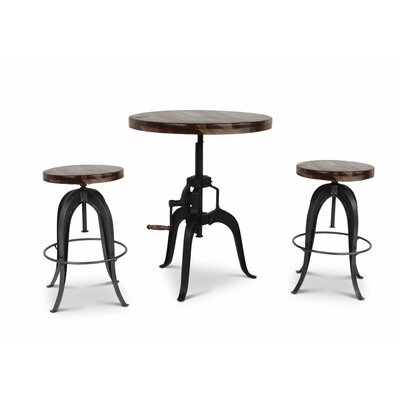 Grigor Adjustable Pub Table Set
