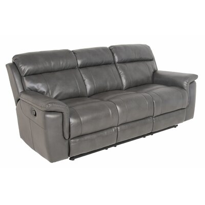Randel Reclining Sofa Upholstery: Grey