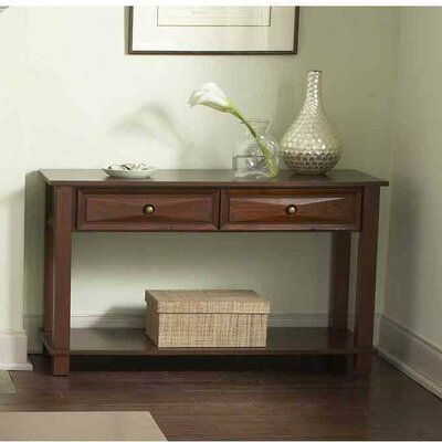 Financing for Mason Console Table Finish: Cherry...
