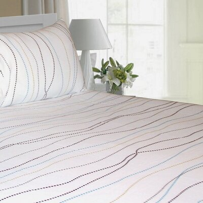 Tribeca Living Dot Printed Extra Deep Pocket Flannel Sheet Set - Size: Queen at Sears.com