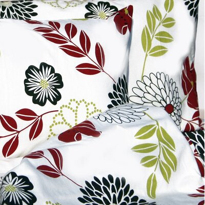 Tribeca Living Floral Printed Extra Deep Pocket Flannel Sheet Set - Size: Queen at Sears.com