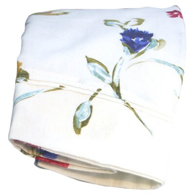 Ryleigh Garden Printed Extra Deep Pocket Flannel Sheet Set Size: California King