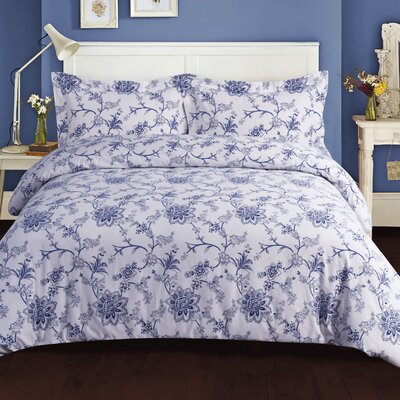 Floral Duvet Set Size: Queen