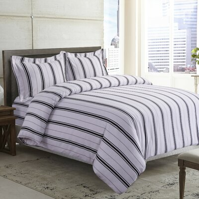 Duvet Set Size: King, Color: Black Gray
