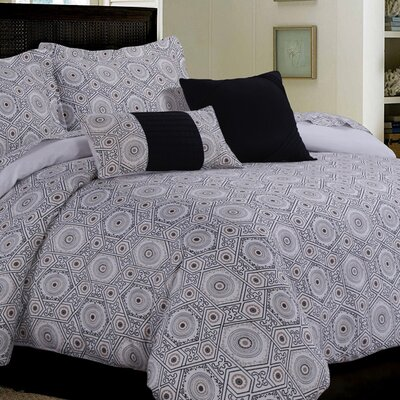 Maldives 5 Piece Duvet Set Size: Queen