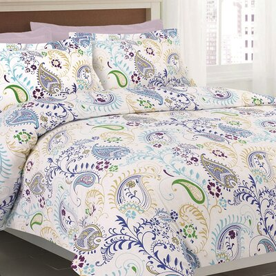 3 Piece Duvet Set Size: Queen