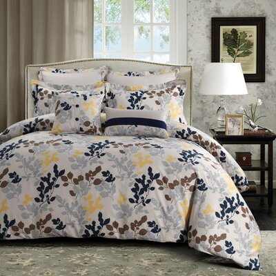 Barcelona 5 Piece Duvet Set Size: Queen