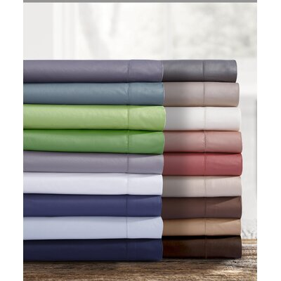 Bilbrook Egyptian Quality Cotton Pillowcase (Set of 2) Size: Twin, Color: Cashmere