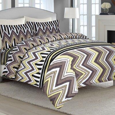 Flannel Luxury 3 Piece Duvet Set Size: King