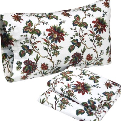 Rainforest Flannel Sheet Set Size: Queen